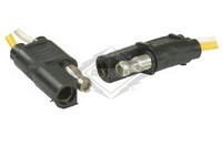 TRAILER PLUG & SOCKET, 2-POLE