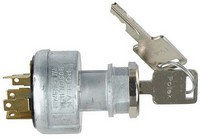 IGNITION SWITCH, 12V, 4-P, 7-T