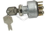 IGNITION SWITCH, 12V, 3-P, 7-T
