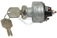 IGNITION SWITCH, 12V, 4-P, 4-T
