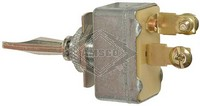 TOGGLE SWITCH, 6-24V, 2-P, 2-T, SPST