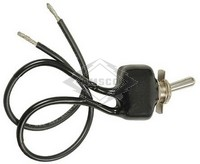 TOGGLE SWITCH, 12V, 2-P, 2-T, SPST