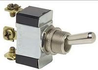 TOGGLE SWITCH, 12V, 3-P, 3-T, SPDT, MOMENTARY