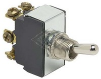 TOGGLE SWITCH, 12V, 3-P, 6-T, DPDT