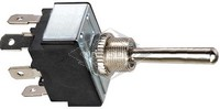 TOGGLE SWITCH, 12V, 3-P, 6-T, DPDT, MOMENTARY