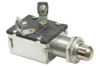 PUSH BUTTON SWITCH, 6-12V, 2-P, 2-T, SPST, MOMENTARY
