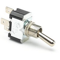 TOGGLE SWITCH, 12-36V, 2-P, 3-T, SPDT