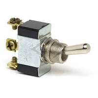 TOGGLE SWITCH, 12-36V, 3-P, 3-T, SPDT, MOMENTARY