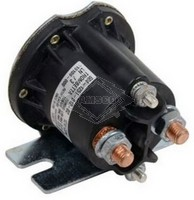 SOLENOID, 12V, 4-T, CONTINUOUS DUTY