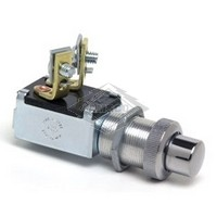 PUSH BUTTON SWITCH, 12V, 2-P, 2-T, SPST, MOMENTARY