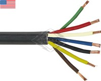 TRAILER CABLE, 12/4, 10/2, 8/1 GAUGE, 100' ROLL