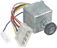 ROTARY SWITCH, 12V, 4-P, 8-T