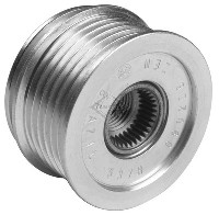 PULLEY, CLUTCH, 6-GROOVE - BO IR/IF